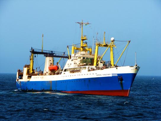 рыболовный траулер пулковский меридиан